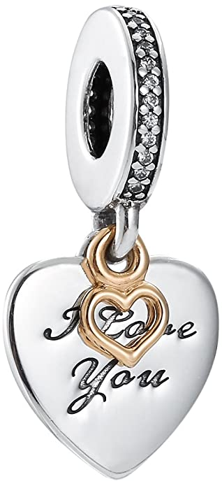 3f67f2f5a21ce Pandora Sterling Silver Love You Forever Dangle Charm 792042CZ ...