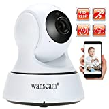 Docooler HD 720P WiFi Wireless IP Security Camera Pan Tilt Camera Night View Motion for CCTV Surveillance Security System