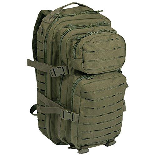 Backpack Mil Tec US Assault 20L Laser Cut Green Oliv