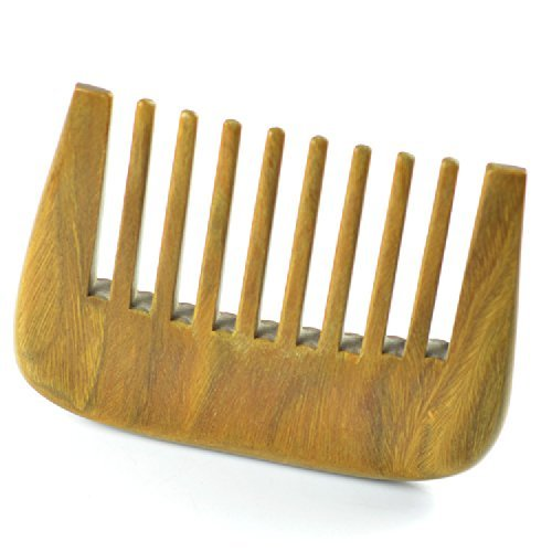 Dxhycc Short Wide Tooth Comb Sandal Wood Comb