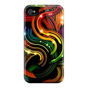 New Arrival DRH8867yqjR Premium Iphone 4/4s Case(abstract)