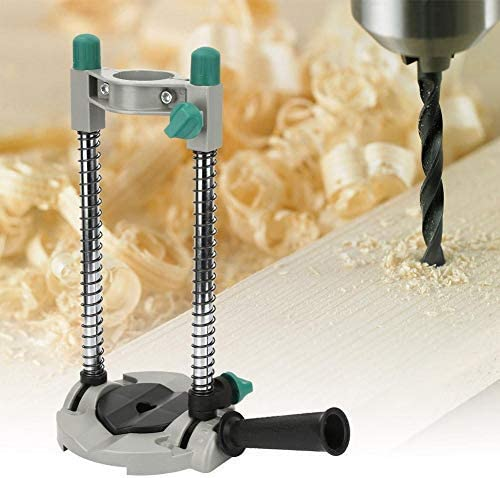 LKK-KK JY05A Alloy Drill Stand Multi-Angle Drill Guide Attachment Adjustable Electric Drill Holder Woodworking Tool