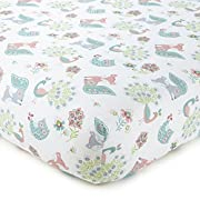 Levtex Baby Fiona Collection Print Fitted Crib Sheet