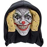 Scary Peeper Evil Clown It Inspired Look Halloween Prop - True-to-Life Pennywise Evil Jester That Peers in Your Window to Frighten Trick-Or-Treaters