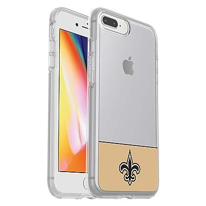 buy popular 9e5fd fdd84 OtterBox NFL SYMMETRY SERIES Case for iPhone 8 Plus & 7 Plus (ONLY) -  Retail Packaging - SAINTS