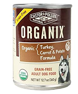 durable service Organix Grain Free Turkey Carrot And Potato Formula Adult Dog Food 12 7 Ounce (Pack Of 12)