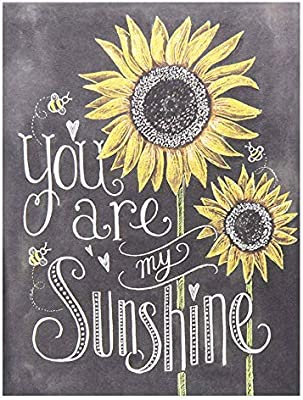 BEROSS You are My Sunshine - علامة عباد الشمس، ديكور فني جداري