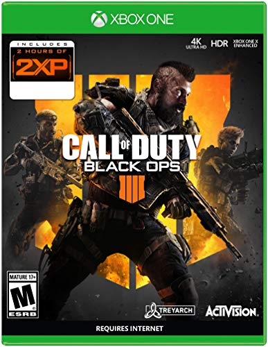 Call of Duty: Black Ops 4 - Xbox One - with Bonus 2 Hours of 2XP (Exclusive Item)