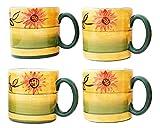 Country Sunflower Mug (Set of 4)