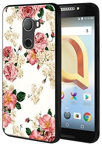 Harryshell for T-Mobile REVVL/Alcatel A30 Fierce 2017 (MetroPCS) / Alcatel A30 Plus (Amazon) / Alcatel Walters Lightweight Slim Thin TPU Gel Skin Flexible Soft Rubber Protective Case Cover (A-2)