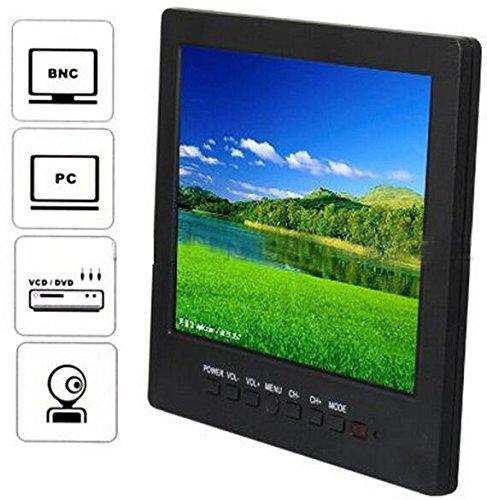 8' inch LCD Color CCTV Monitor with VGA BNC AV Port and Speaker 800*600 Resolution, [Importado de UK] BW Corp 8 inch monitor