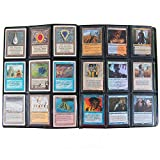 Mega Monster Binder XL Size - Twice as Large as a Standard 9 Pocket Trading Card Binder with HUGE 720 Card Capacity - Fits Yugioh, Magic and Pokemon- Black