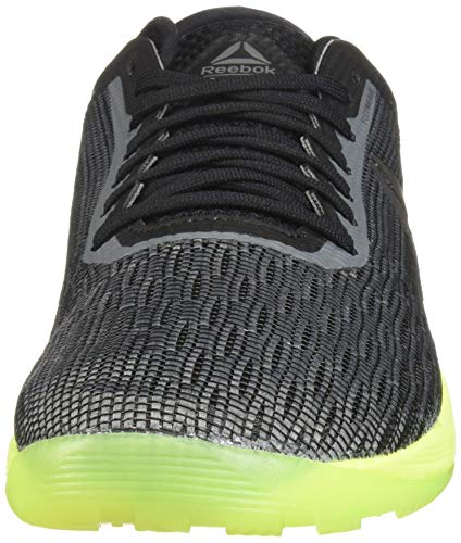 Reebok Men's CROSSFIT Nano 8.0 Sneaker, Alloy/Black/Solar Yellow, 6.5 M US by Reebok (Image #4)