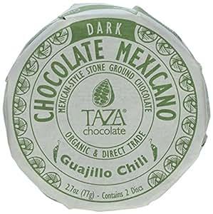 Taza Chocolate Mexicano Chocolate Disc, Guajillo Chili, 2.7 Ounce