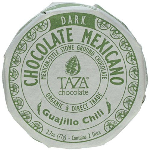 Taza Chocolate Mexicano Chocolate Disc, Guajillo Chili, 2.7 (Guajillo Chili)