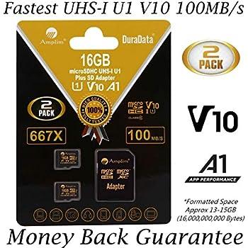Amazon.com: SanDisk 16GB Class 4 SDHC Flash Memory Card - 2 ...