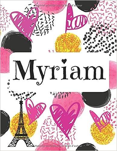 Myriam: Journal nom