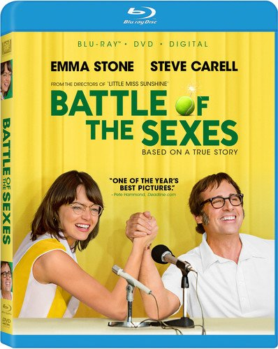 Blu-ray : Battle Of The Sexes (With DVD, Digitally Mastered in HD, Widescreen, Dolby, 2 Disc)