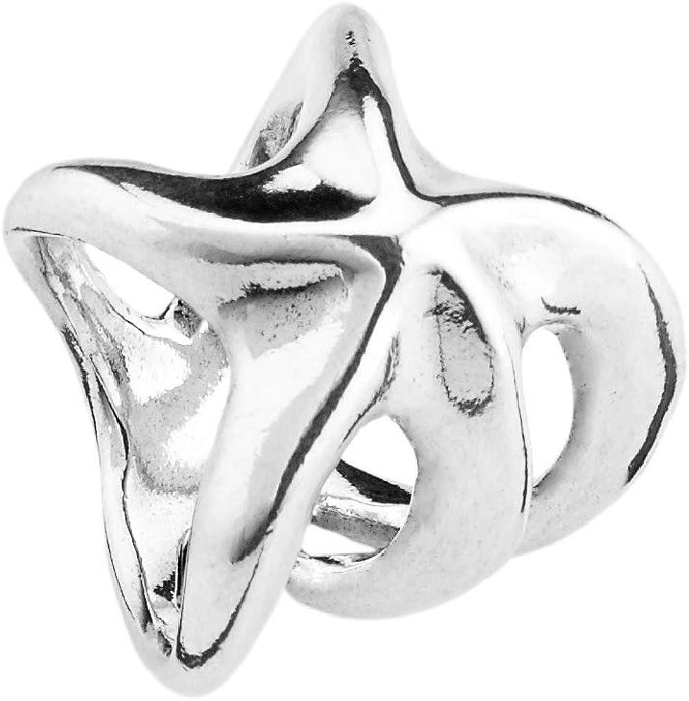 Uno de 50 Anillo de Plata de la aleacin de la Mujer de la Tribu ANI0536MTL000L