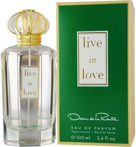Oscar De La Renta Live in Love Eau De Parfum Spray for Women, 3.4 Ounce