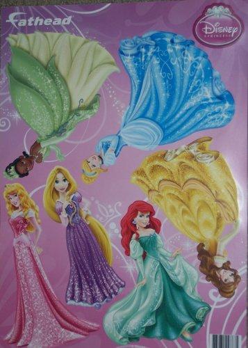 Vinyl Fathead (Disney Princess FATHEAD Set of 6 Princesses Official Vinyl Wall Graphics)