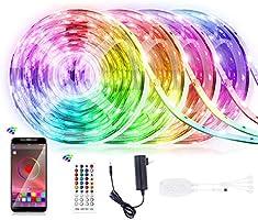 Homiar LED Strip Lights RGB Lights for Home Decoration