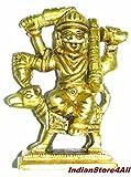 "IndianStore4All Indian Lord Hindu God Shree Kal Bhairav Idol Pooja/Shri Kaal Batuk Bhairava Puja/Bharav/Bhirav Statues Idols - 2.7"" Inchs Approx"