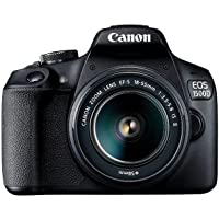 Canon EOS 1500D (18-55mm) DSLR Camera (AUST STK), Black