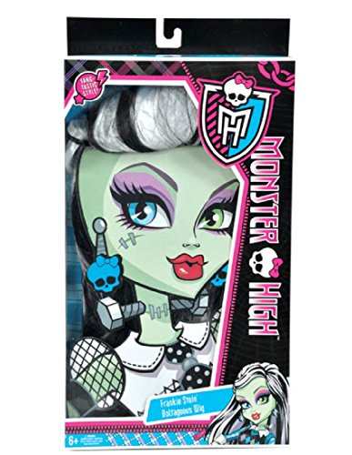 Monster High Frankie Stein Wig, Black and White