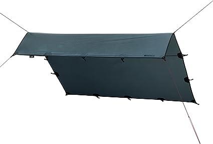 Qeedo Smart Tarp, Lona Camping Impermeable (3x3m, 3x4m, 3,2x2,8m), Lona Suelo Camping, Ligera, Robusta