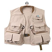 Maxcatch Kids Fly Fishing Vest Youth Vest Pack, 100% cotton