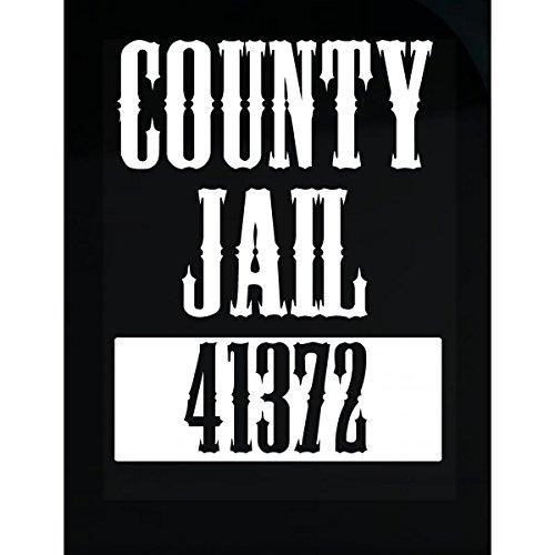 VONC County Jail Inmate Prison Criminal Halloween Costume