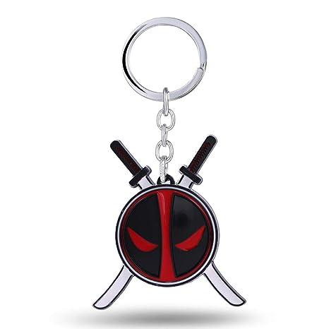 Mct12 - MS Key Chain Deadpool Key Rings For Gift Chaveiro ...