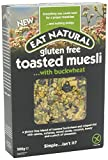 Eat Natural G/F Toasted Muesli- Buckwheat 500G X 1