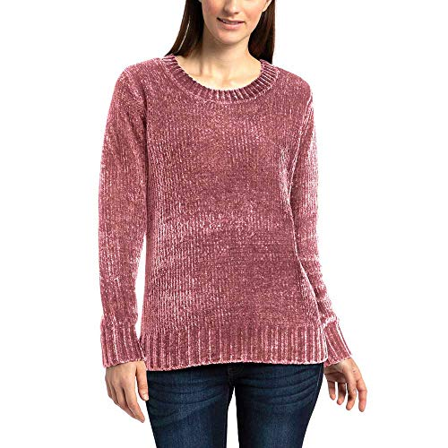 Orvis Chenille - Orvis Ladies' Chenille Sweater (M, Pink)