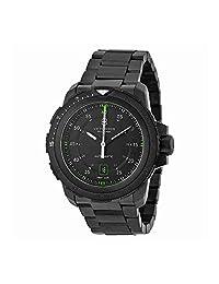 Victorinox Swiss Army Alpnach Mechanical Automatic Black Dial Black Ion-plated Mens Watch 241684