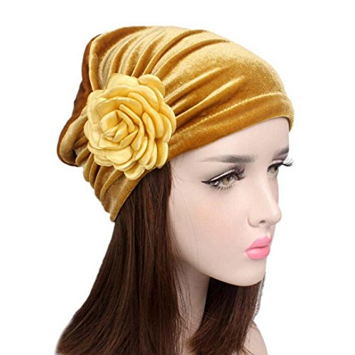 HOT!Casual Fitted Head Wrap Cap ,BeautyVan Adult Charming Women Cancer Chemo Hat Beanie Scarf Turban Head Wrap Cap,Multiple Colors Available