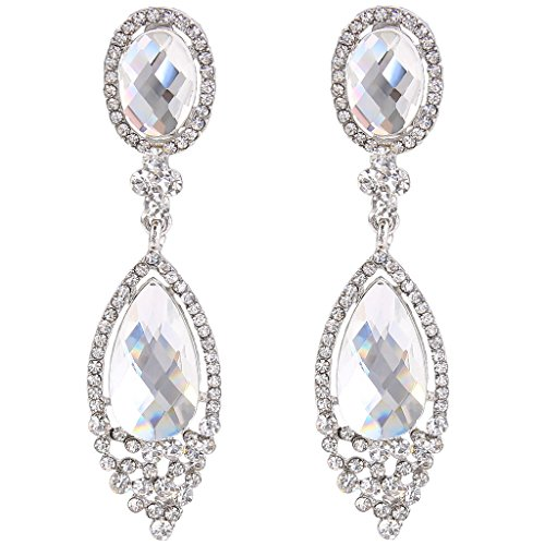 Clip on chandelier earrings amazon aloadofball Choice Image