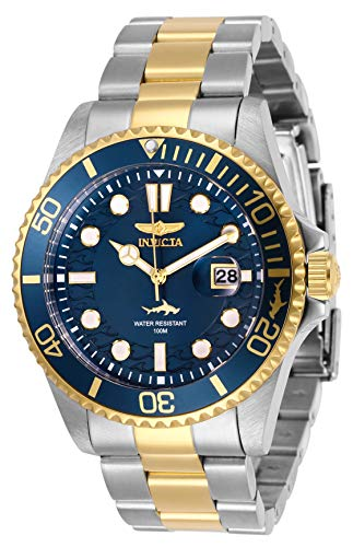 Invicta Men's Pro Diver Quartz Watch with Stainless Steel Strap, Two Tone, 22 (Model: 30021) from Invicta