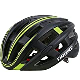 Cycling Helmet – DRBIKE Adult Bicycle Helmet with LED Warning Light for Mountain Bike, Road Bike, BMX For Sale