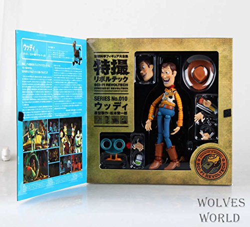 - Aquaman Store Toy Story Toy Story Woody Series NO. 010 Sci-Fi Revoltech Special PVC Action Figure Collectible Toy 16cm KT3710 1 PCs
