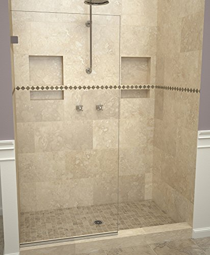 (Tile Redi USA 20VCPNF02476 Shower Screen, 76