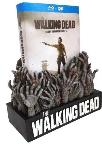 The Walking Dead (Complete Season 3) - 5-Disc Box Set & Figure Of Hands ( The Walking Dead - Complete Season Three ) (Blu-Ray & DVD Combo) (Blu-Ray)