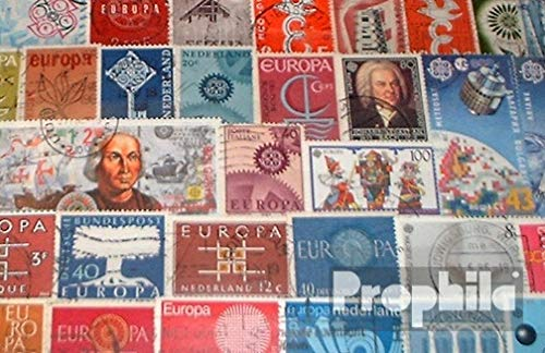 Europe 100 Different Stamps CEPT (Stamps for Collectors)