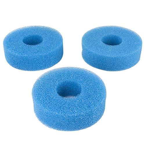 LTWHOME Compatible Foam Sponge Filter 25PPI Fits for Laguna Pressure-Flo 700 UVC Filter (Pack of 3)