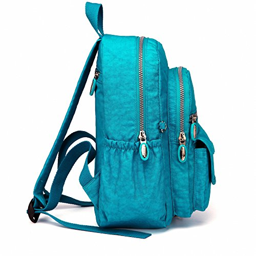 cc33959fb7 AOTIAN Mini Nylon Women Backpacks Casual Lightweight Strong Small Packback  Daypack for Girls Cycling Hiking Camping