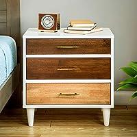 Unique Christian 3-drawer Oak, Wenge, White Finish Modern Nightstand