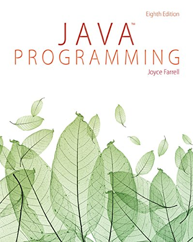 Java Programming by Farrell Joyce