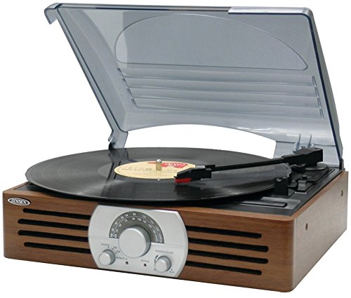 3-Speed Stereo Turntable With Am/Fm Stereo Radio , 3-Speed Stereo Turntable With Am/Fm Stereo Radiojensen(R)'S 3-Speed Stereo Turntable With Am/Fm Stereo Radio Is A Solid Turntable In An Antique Styl by LKMN