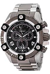 Invicta Men's 0338 Reserve Arsenal Swiss Chronograph Big Date Stainless Steel Bracelet Watch